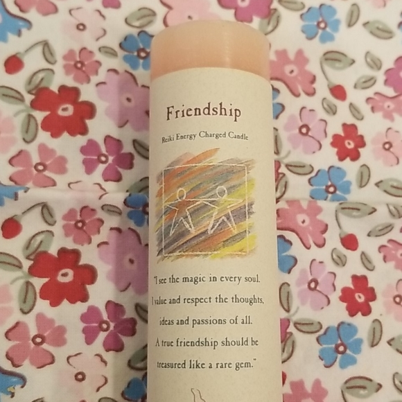 crystal journey candle Other - Pink friendship candle never used